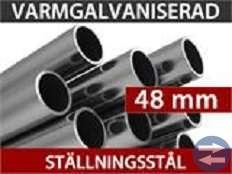 Lagerhall 6,00 x 12,00 x 3,5 x 5,5 Titanium Vit/Gr