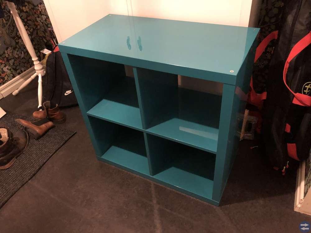 Ikea hyllor Kallax