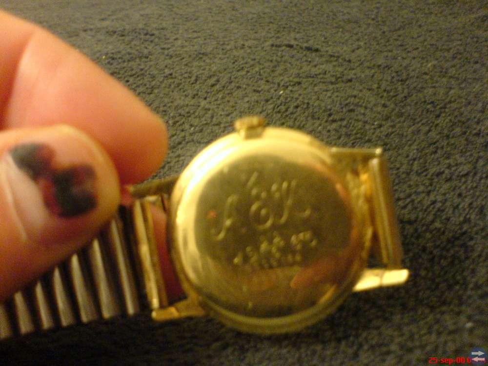 Certina 14 karat guld herr klockan