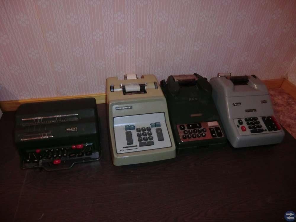 Räkne Maskiner från 70-80-90 Talet