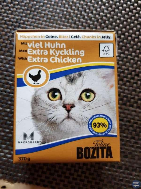 Kattmat, Bozita våtfoder, katt