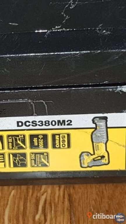 Dewalt sticksåg DCS380M2