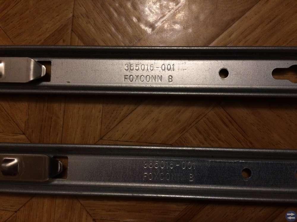 Rackskena för HP DL360 G5 1par Foxconn