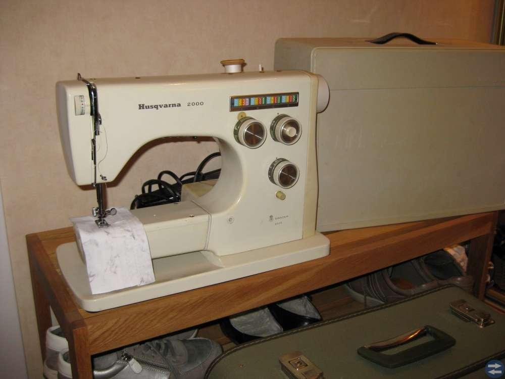 Husqvarna symaskin 2000