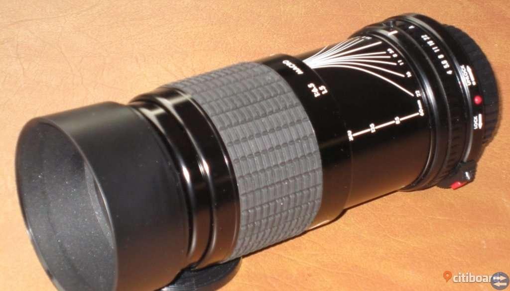Sigma teleobjektiv till Canon T70