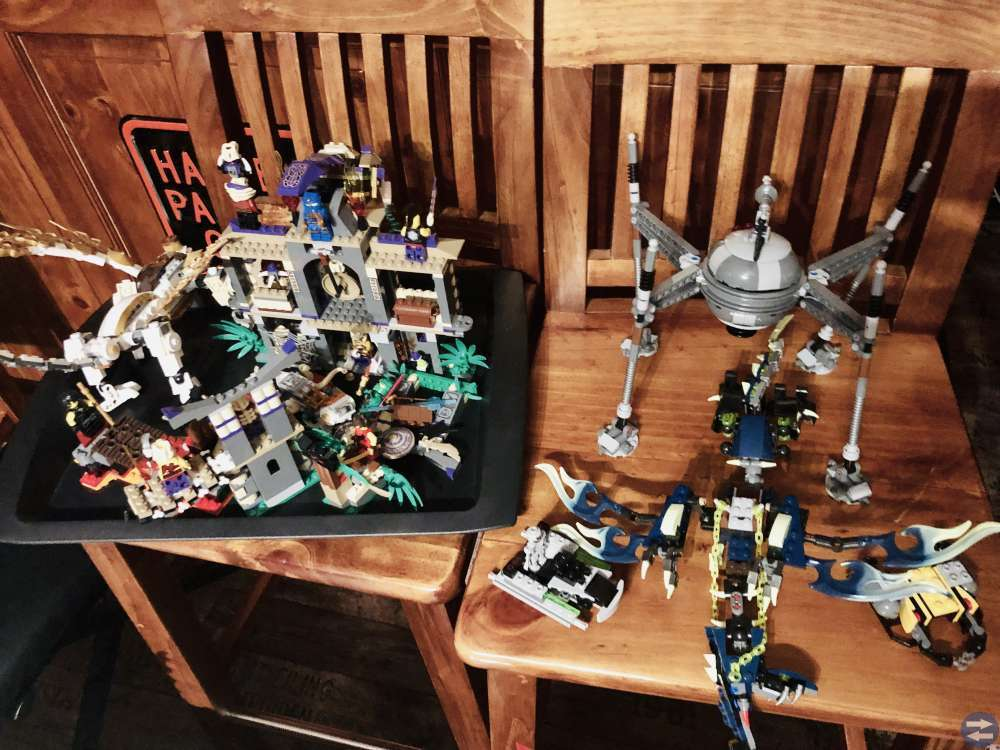 Massor med LEGO till vrakpris