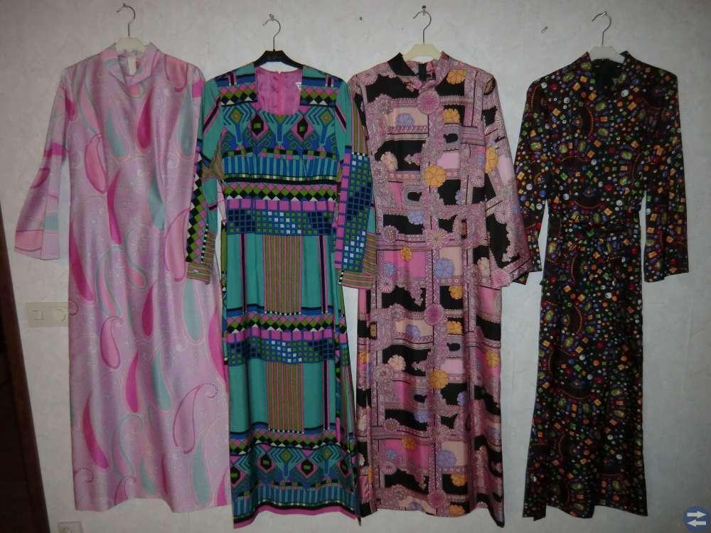Nya Klänningar från 70-80-90 Talet