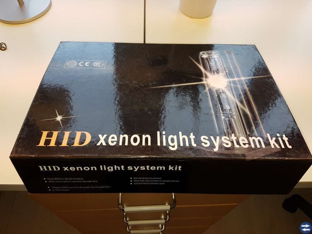 Hid Xenon kit 8000K H4