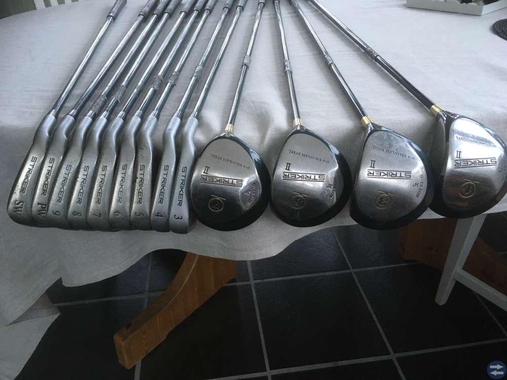 REA Golfklubbor 13 st 130kr