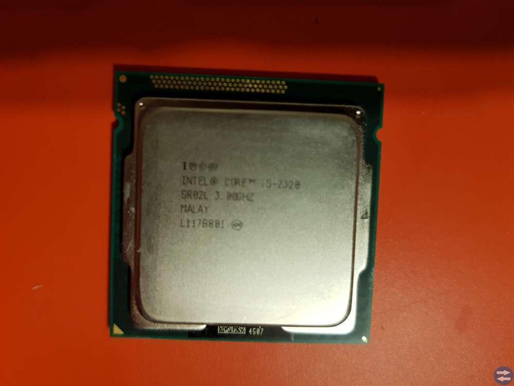 Intel Core i5-2320 + Core i5-2400 samt HP Server