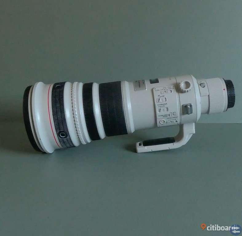 Canon EF 500mm F4.0 EF ÄR L USM-objektiv