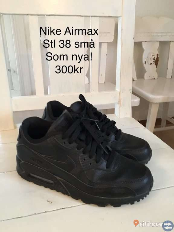80b6d6faab8 Nike Airmax små stl 38 svarta - Göteborgtorget.se - Annonsera gratis ...