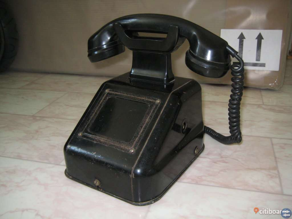 Vintage Vevtelefon, gammal telefon