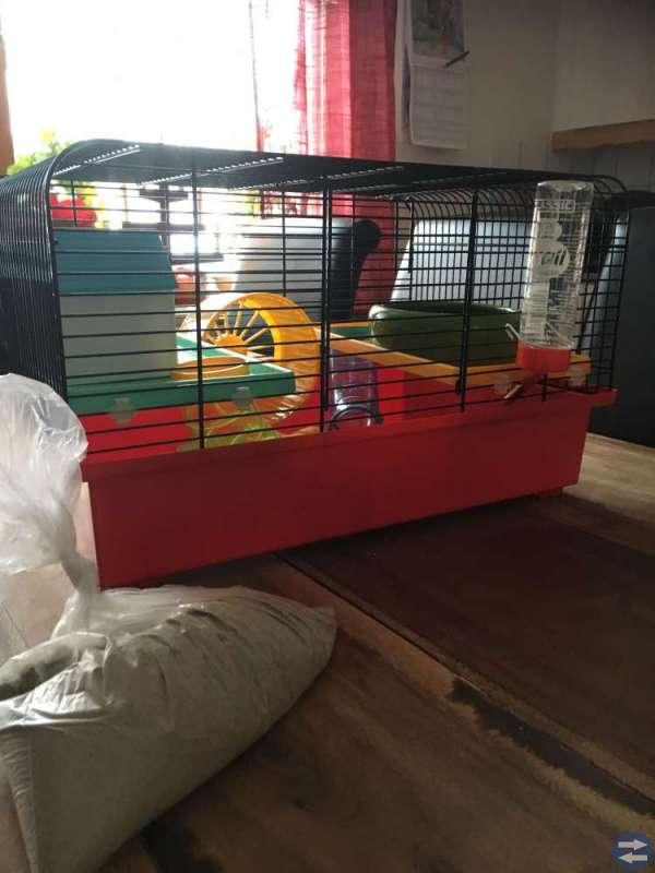 Smådjursbur/hamsterbur