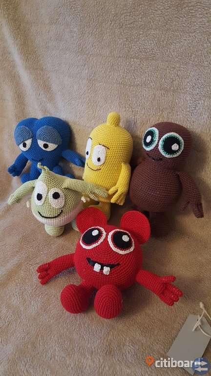 Virkade leksaker