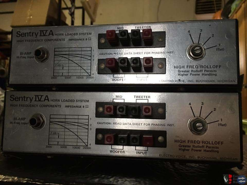Sökes: Electro Voice Sentry IV