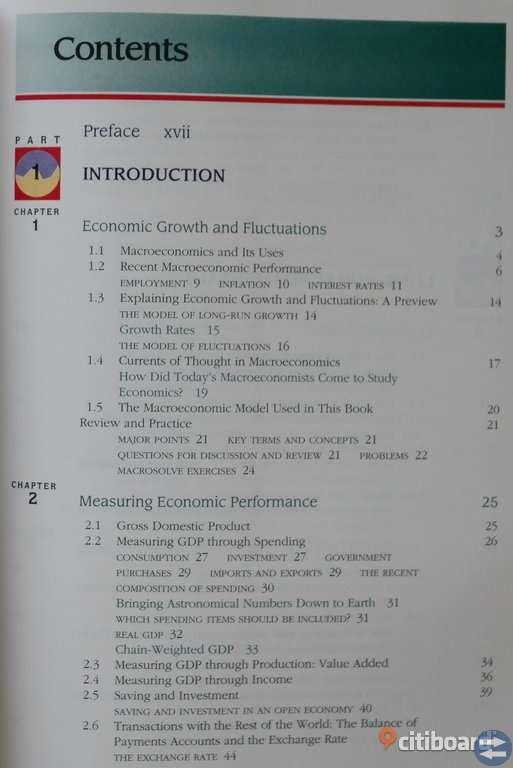 BOOK Macro Economics by Robert E. Hall and John B. Taylor. Fifth Edition. 150 SEK.
