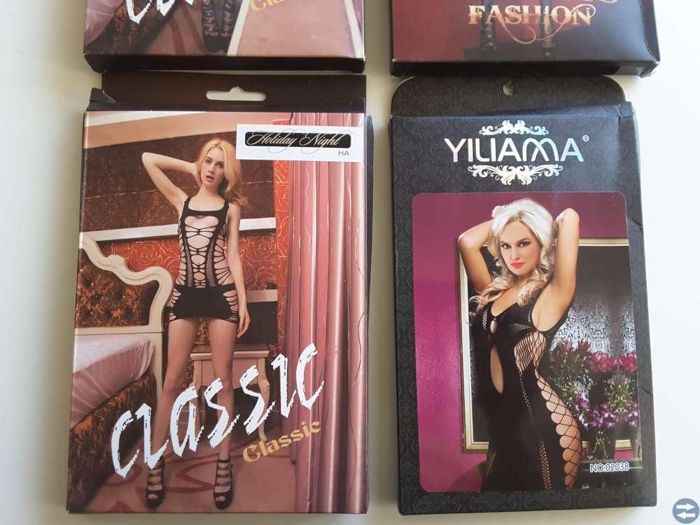 Mycket fina & erotiska underkläder och klänninger