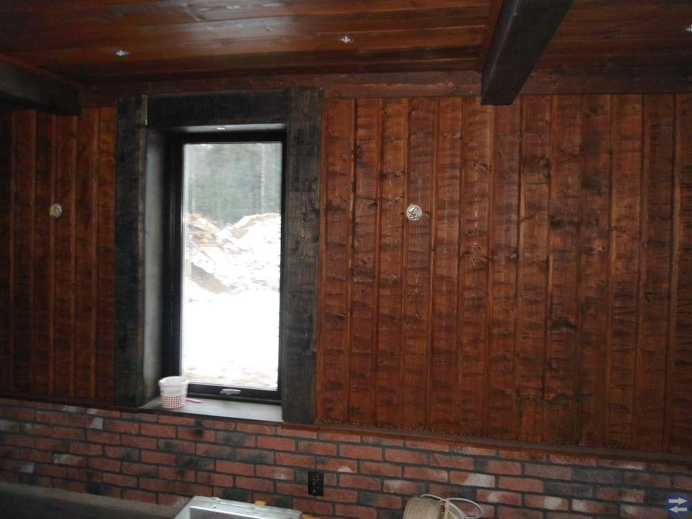 Dekor sten & timmer panel