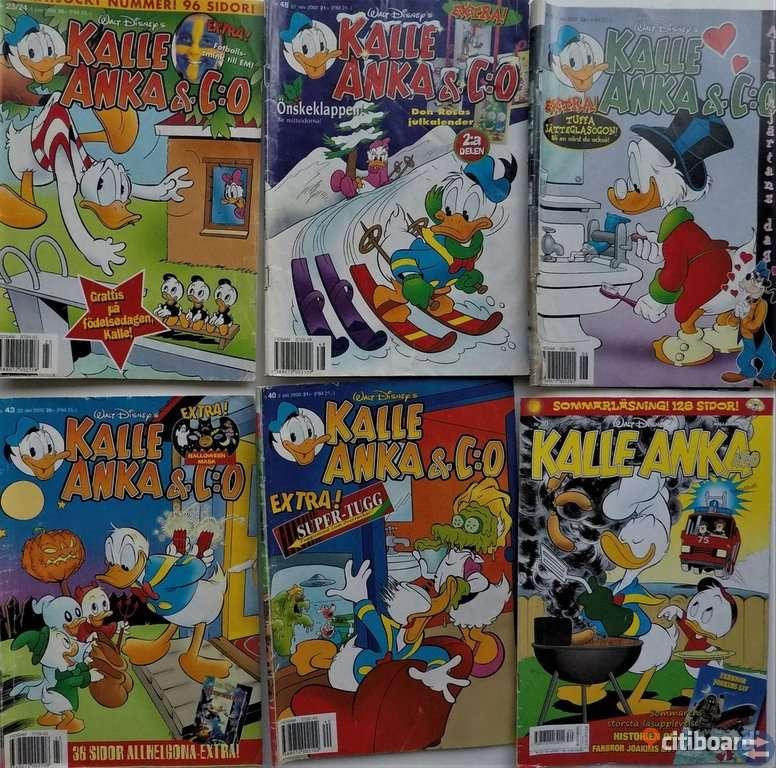 Kalle Anka Serietidningar