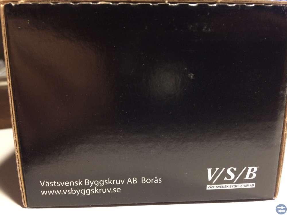 Vagnsbult M6x40 FZB ca 100st VSB MVBF 4.6 (90640)