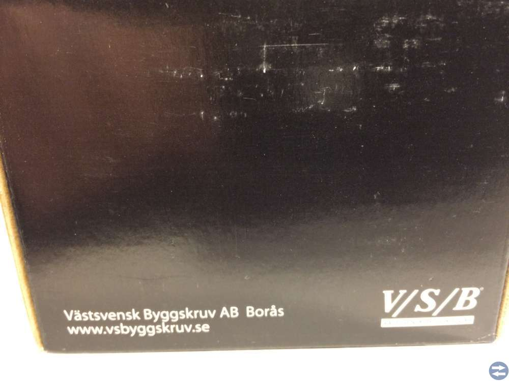 Vagnsbult M6x80 ca 100 st (90680)