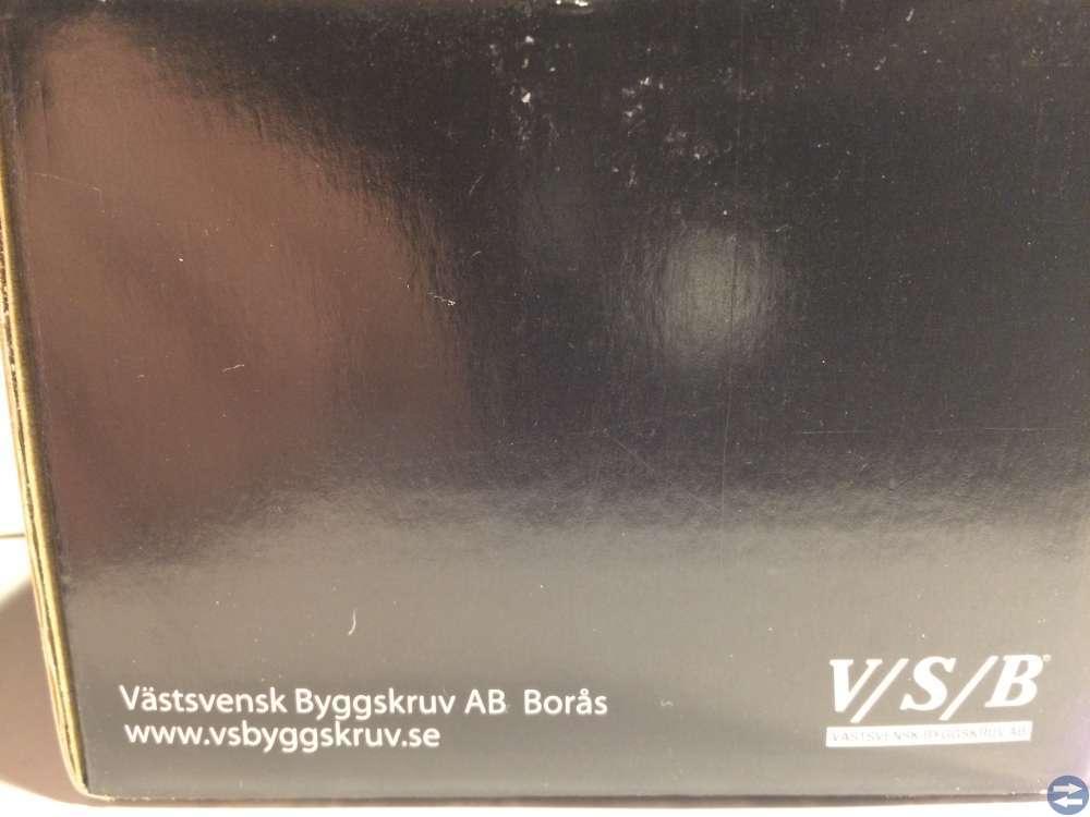 Vagnsbult MVBF 4.6 M8x60 FZB ca 100st (90860)