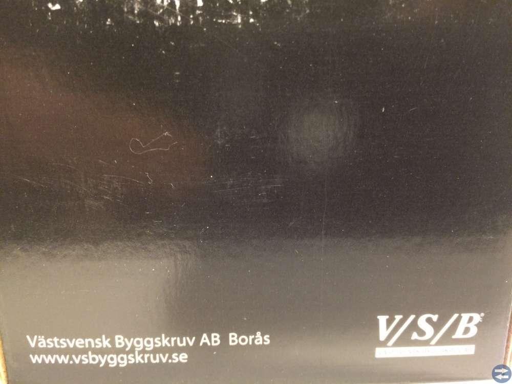 Vagnsbult M8x80 ca 50 st (908809)