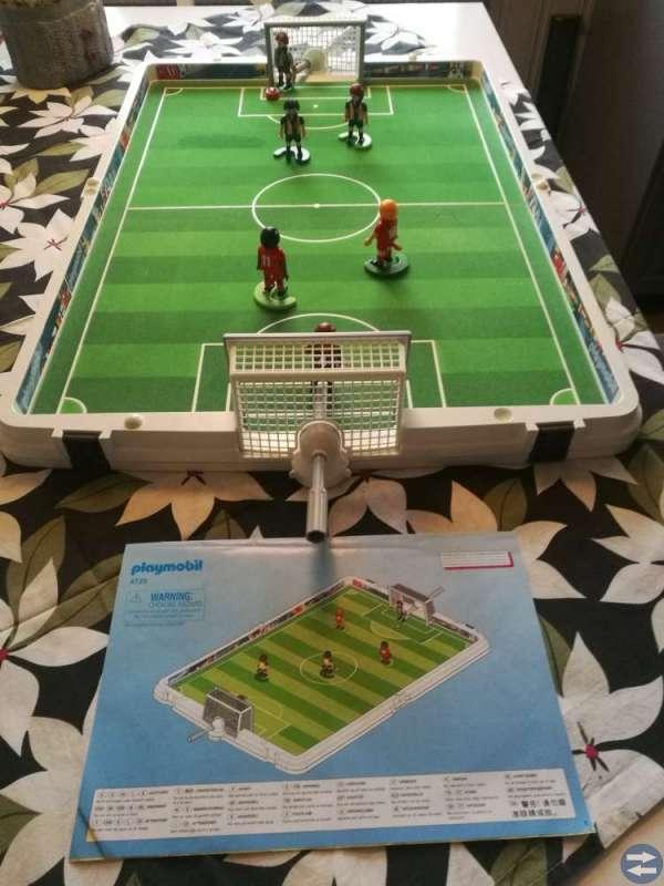Playmobile. Fotbollsarena.