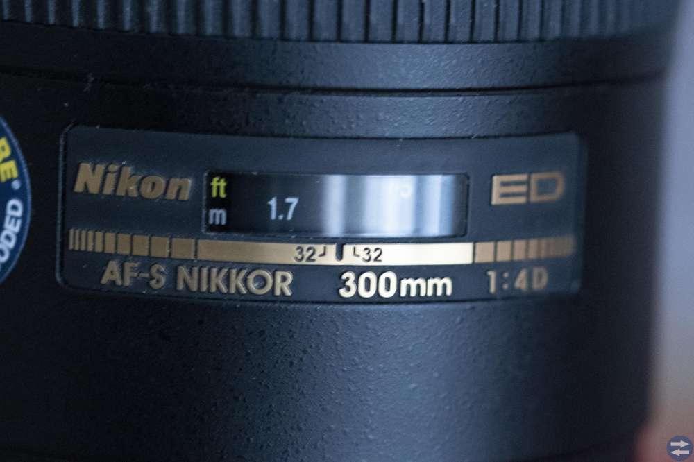 Objektiv till Nikon. AF-S Nikkor 300mm 1:4D ED
