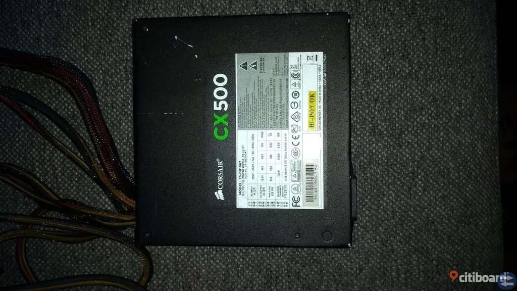 Nätdel Corsair CX500