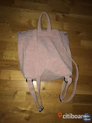 Oanvänd ryggsäck