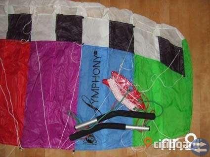 Kite - för vinter på is och snö