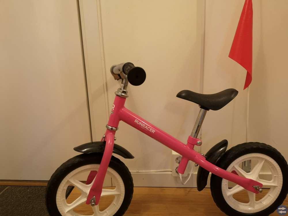 Balans/sparkcykel samt Cykelstol