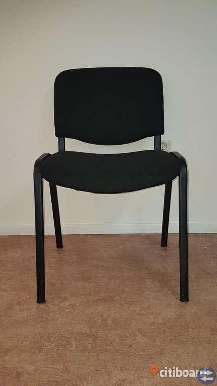 Konferensbord med stolar, övriga inventarier