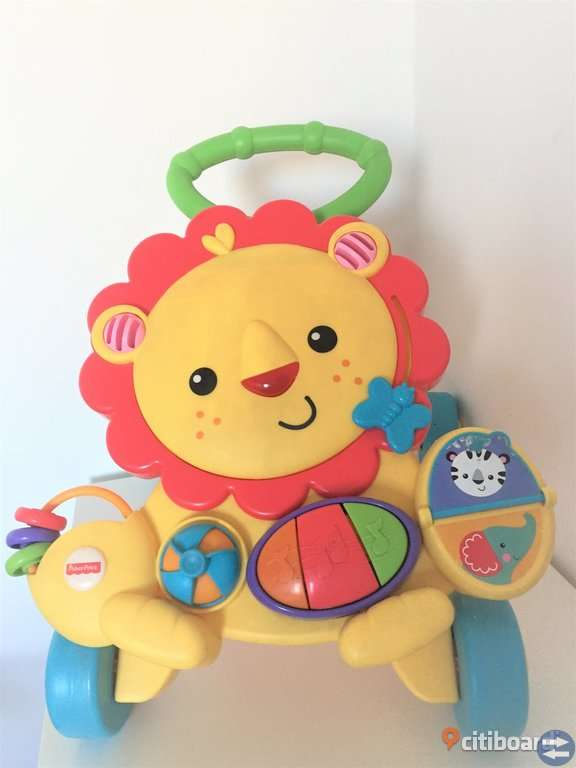 Fisher Price Walker Lion - Gul | Yellow