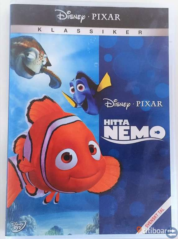 DVD för barn | DVD for children: Alvin, Nemo, Aladdin, Minions, Lego