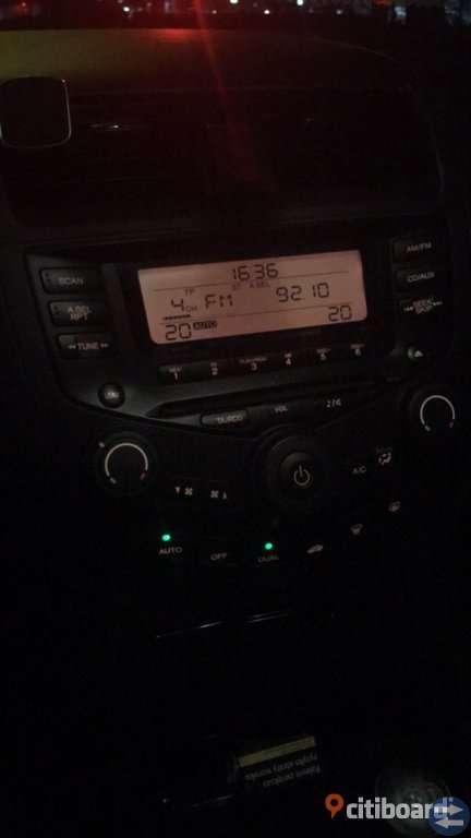 Radio Honda Accord VII
