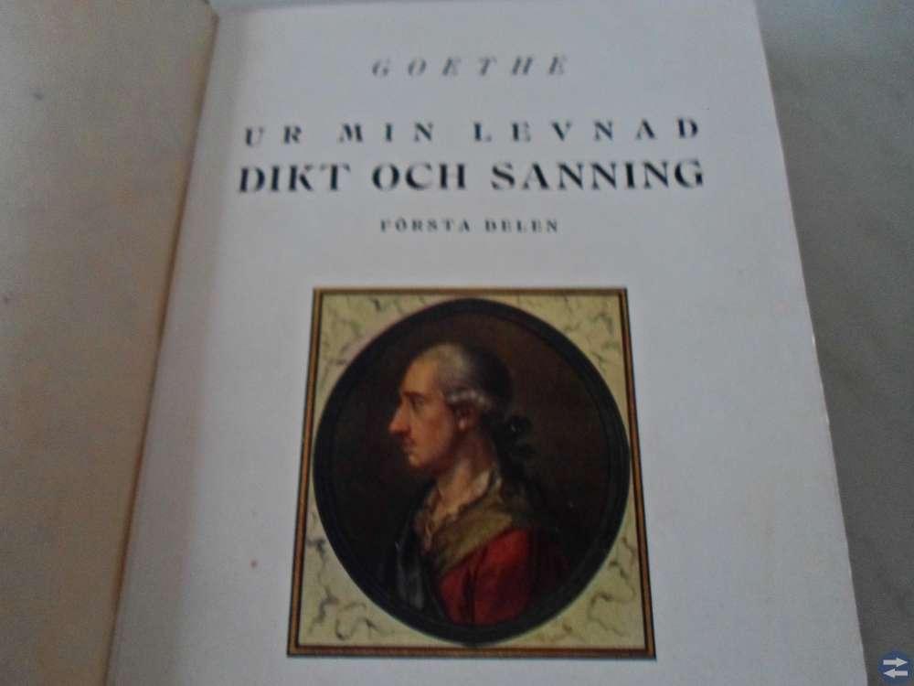 Goethe. Dikt och sanning.