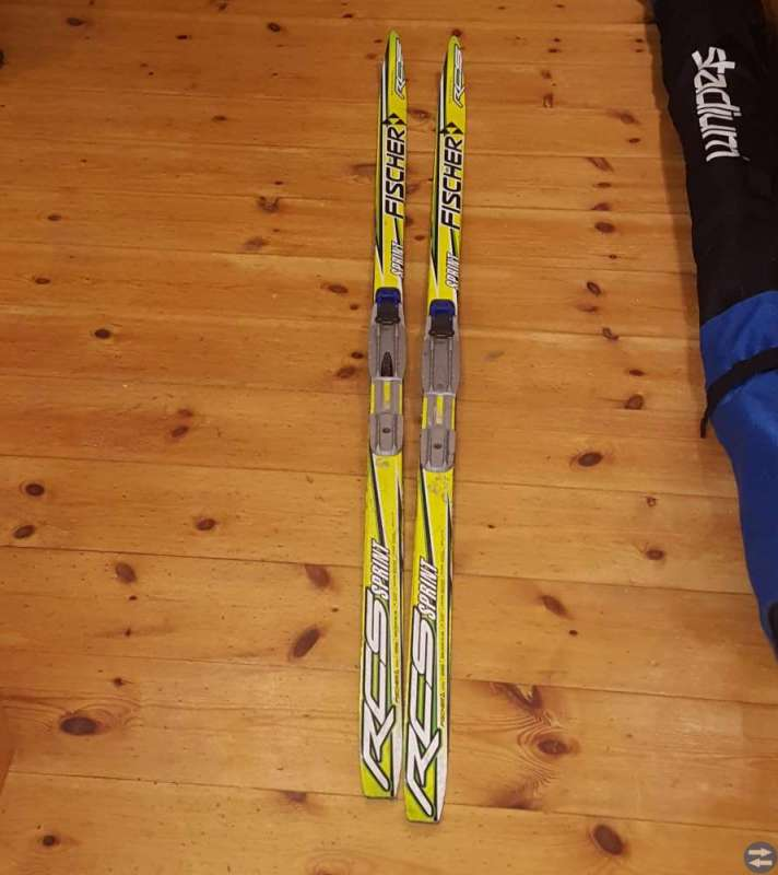 Längd skidor 160 cm
