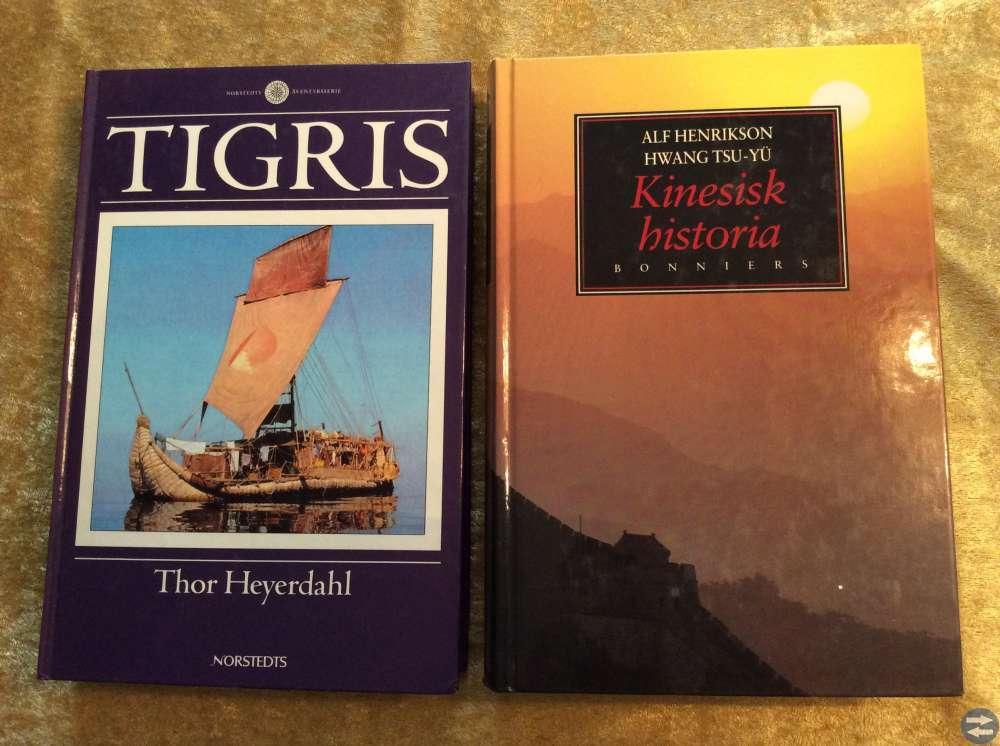 Tigris och Kinesisk historia