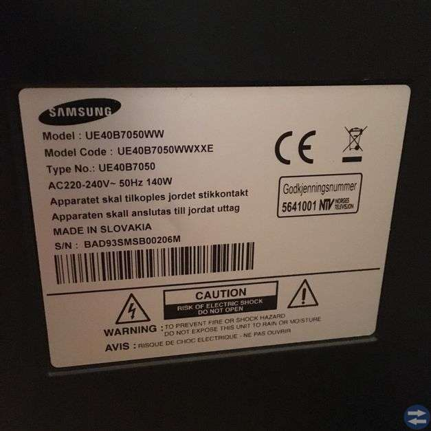 LED TV SAMSUNG 40 ,SMART TV