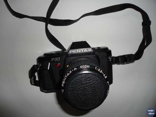 Analog systemkamera PENTAX med tillbehör