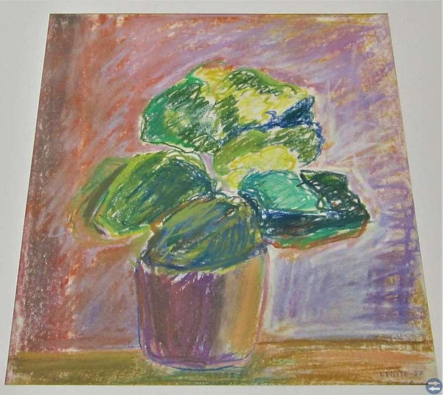 Lillemor Weise (1932 - 2015)  Stilleben 1987