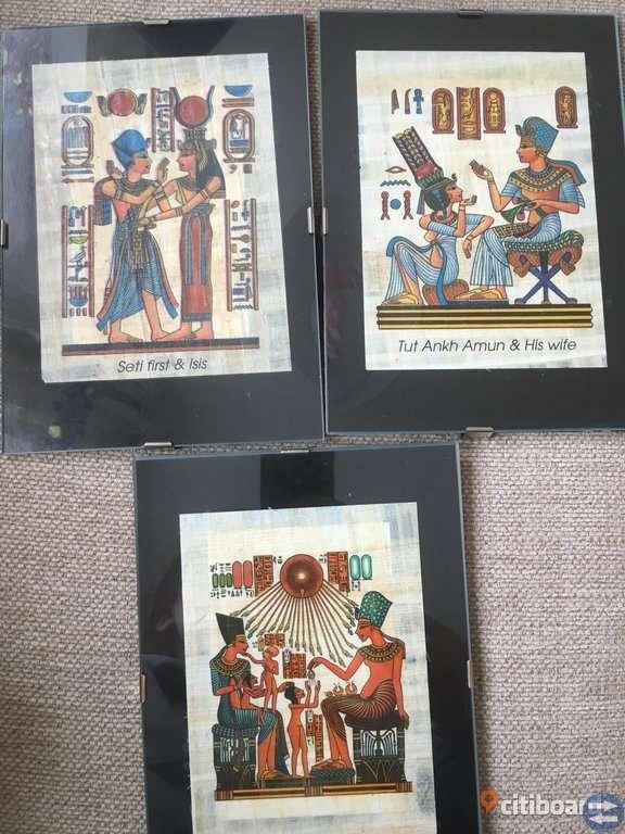 Antik Egypten tavlor.