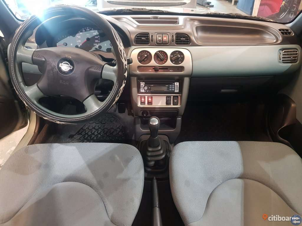 Nissan Micra 3-dörrar 1.0 Manuell, 60hk