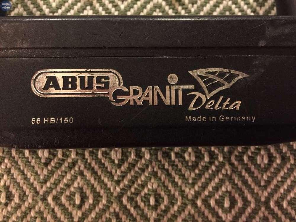 Bygellås Abus Granit Delta 56/150