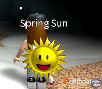 Murder Mystery 2 ROBLOX | Spring Sun | Spel Objekt