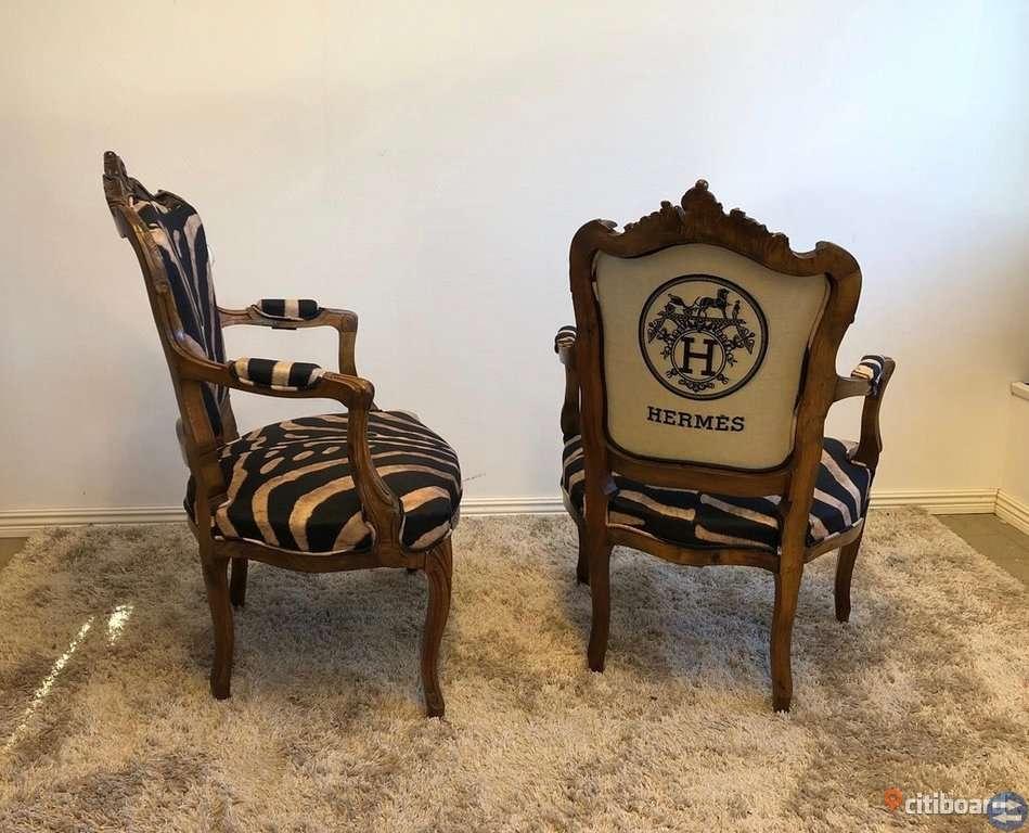 Unika Möbler - Rokoko karmstolar