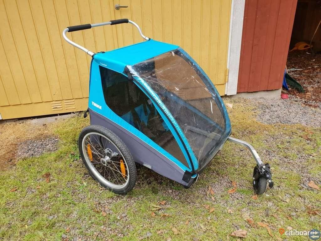 HYR UT 2 helt nya cykelvagnar